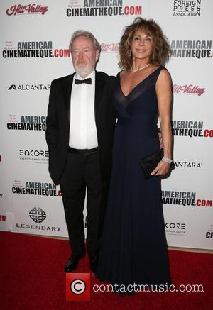 Ridley Scott seen arriving at the 30th Annual American Cinematheque Awards Gala held at The Beverly Hilton Hotel, Beverly Hills,...