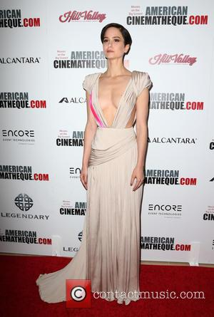 Katherine Waterston seen arriving at the 30th Annual American Cinematheque Awards Gala held at The Beverly Hilton Hotel, Beverly Hills,...