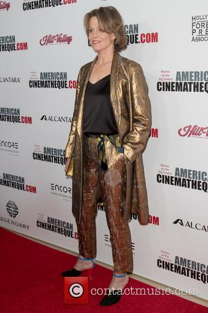 Sigourney Weaver at the 30th annual American Cinematheque Awards Gala held at The Beverly Hilton Hotel, Los Angeles, California, United...