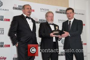 Andrea Boragno, Sir Ridley Scott and Matt Damon