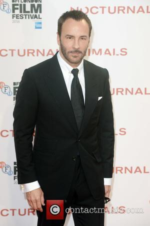 Tom Ford at the BFI London Film Festival premiere screening of 'Nocturnal Animals' held at the Odeon Leicester Square, London,...