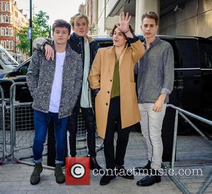 The Vamps, Brad Simpson, James Mcvey, Connor Ball and Tristan Evans