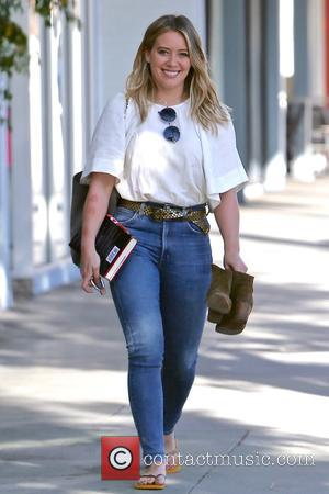 Hilary Duff Defends Kissing Young Son On Lips