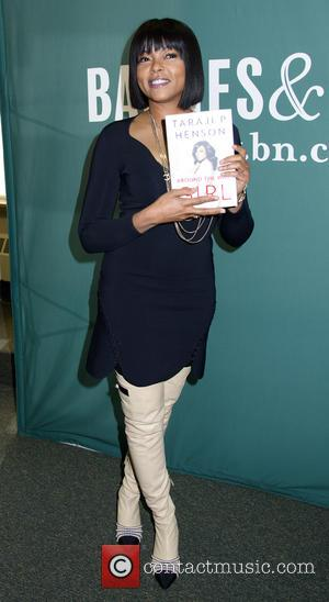 Taraji P Henson at a Book Signing at a bookstore for her new book 'Around The Way Girl' at Barnes...