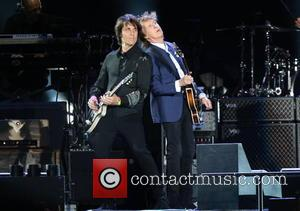 Paul Mccartney and Rusty Anderson