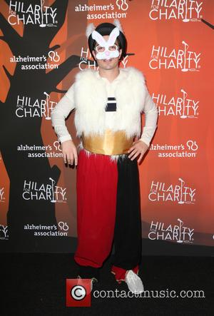Ben Feldman and Michelle Mulitz at the 5th annual 'Hilarity for Charity' Los Angeles Variety Show: Seth Rogen's Halloween at...