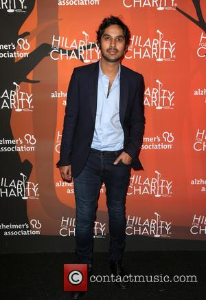 Kunal Nayyar at the 5th annual 'Hilarity for Charity' Los Angeles Variety Show: Seth Rogen's Halloween at Hollywood Palladium -...
