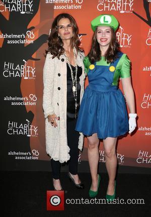 Maria Shriver and Lauren Miller