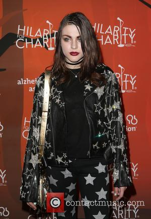 Frances Bean Cobain Graffitis Face On Billboard In Marc Jacobs Ad