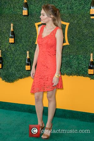 Aimee Teegarden arrives at the 7th Annual Veuve Clicquot Polo Classic held at Will Rogers State Historic Park, Pacific Palisades,...