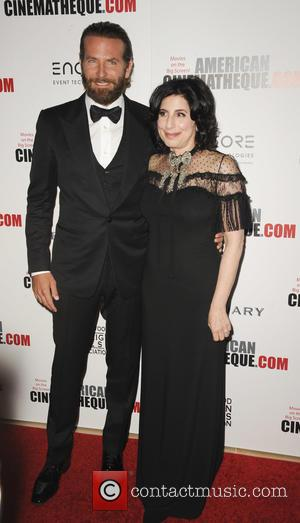 Bradley Cooper and Sue Kroll at the 30th annual American Cinematheque Awards Gala held at The Beverly Hilton Hotel, Los...