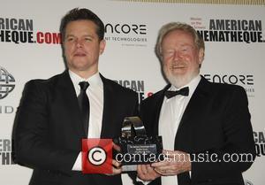 Matt Damon and Ridley Scott