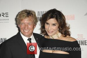 Nigel Lythgoe and Jo Champa at the 30th annual American Cinematheque Awards Gala held at The Beverly Hilton Hotel, Los...