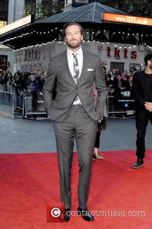 Armie Hammer attending the Closing Night Gala screening of 'Free Fire,' during the 60th BFI London Film Festival held at...