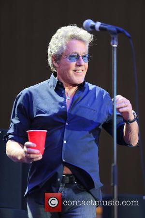 Roger Daltrey of The Who performs onstage during Desert Trip 2016 held at The Empire Polo Club in Indio, California,...