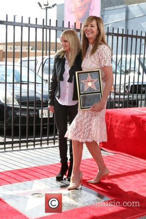 Allison Janney is awarded a star on the Hollywood Walk of Fame. Many friends and colleagues were at the ceremony...
