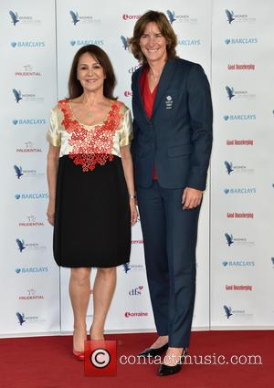 Arlene Phillips and Dr Katherine Grainger at the 2016 Woman of the Year Lunch and Awards held at Intercontinental Hotel,...