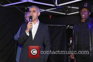 Eddy Grant and Sadiq Khan