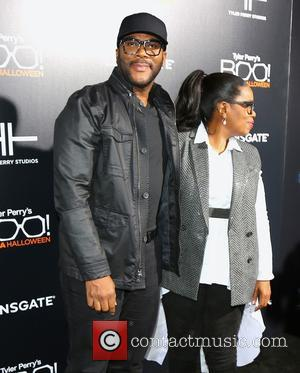 Tyler Perry and Oprah Winfrey