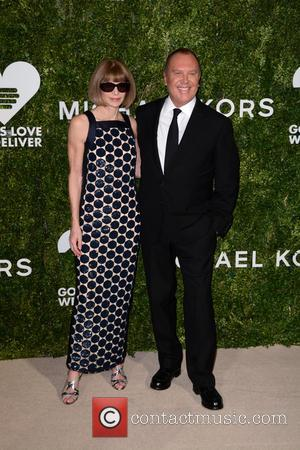 Anna Wintour and Michael Kors arrives at the 2016 Golden Heart Awards Dinner held by the charity God's Love We...