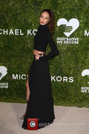 Joan Smalls arrives at the 2016 Golden Heart Awards Dinner held by the charity God's Love We Deliver held at...