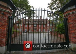 General view of the house in north-west London which has reportedly been rented by Justin Bieber at a cost of...