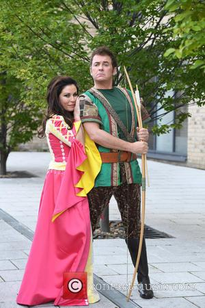 Shane Richie and Jessie Wallace