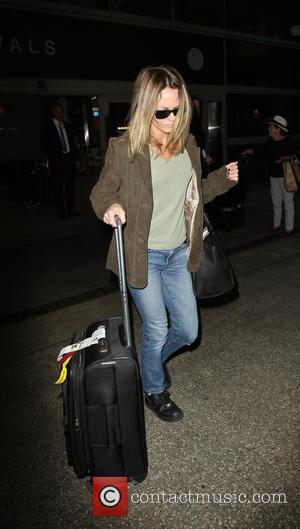 Vanessa Paradis arrives into LAX airport - Lax, California, United States - Tuesday 18th October 2016