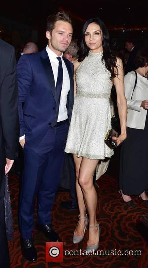 Sebastien Stan and Famke Janssen