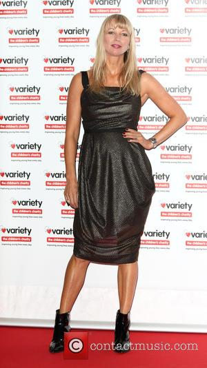 Sara Cox seen at the Variety Hall Of Fame ShowBiz Awards and fundraiser for the Variety Children's Charity at London...