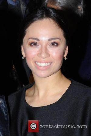 Dancer Katya Jones attending the VIP opening night of dance company Burn the Floor's latest production held at the Peacock...