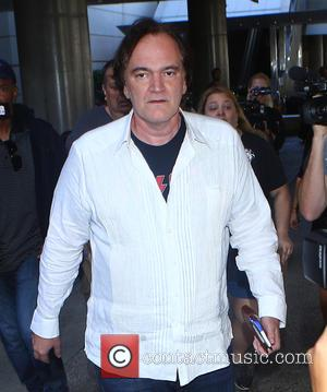 Director Quentin Tarantino arrives at Los Angeles International (LAX) Airport - California, United States - Wednesday 19th October 2016