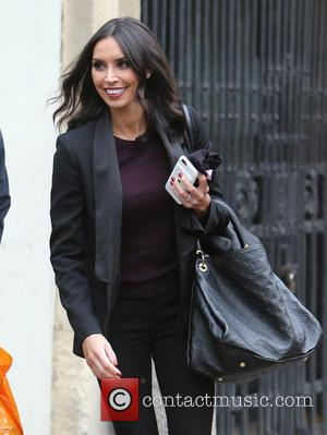 Television presenter Christine Bleakley outside ITV Studios, London, United Kingdom - Wednesday 19th October 2016
