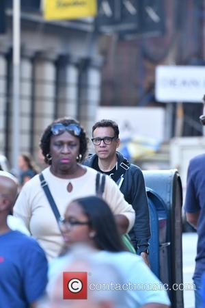 Fred Armisen seen out and about with friends in Soho, Manhattan, New York, United States - Thursday 20th October 2016