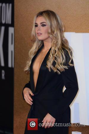 Tallia Storm at the European premiere of Tom Cruise's new movie 'Jack Reacher: Never Go Back' held at Cineworld Leicester...
