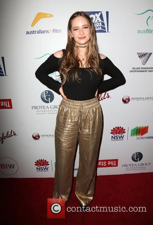 Ashleigh Cummings and Aaron Jakubenko at the fifth annual Australians In Film Award Gala held at NeueHouse Hollywood - Los...