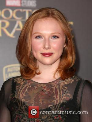 Molly Quinn at the premiere of Disney and Marvel Studios' new movie Doctor Strange held at El Capitan Theatre, Disney,...