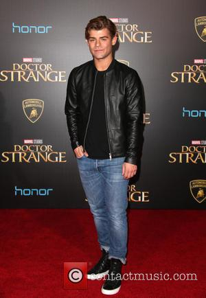Garrett Clayton at the premiere of Disney and Marvel Studios' new movie Doctor Strange held at El Capitan Theatre, Disney,...