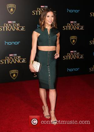 Allison Holker and Stephen Boss at the premiere of Disney and Marvel Studios' new movie Doctor Strange held at El...