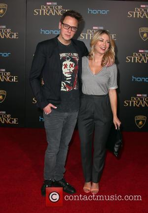 James Gunn at the premiere of Disney and Marvel Studios' new movie Doctor Strange held at El Capitan Theatre, Disney,...