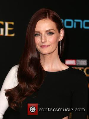 Lydia Hearst at the premiere of Disney and Marvel Studios' new movie Doctor Strange held at El Capitan Theatre, Disney,...