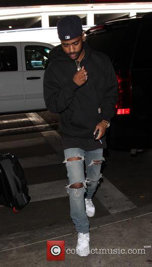 Rapper Big Sean departs from the LAX - Los Angeles, California, United States - Friday 21st October 2016