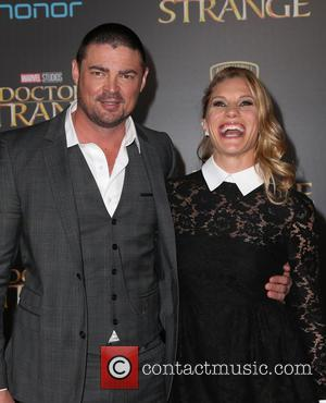 Karl Urban and Katee Sackhoff