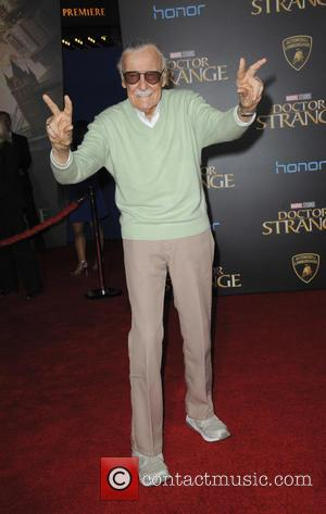 Stan Lee seen at the premiere of Disney And Marvel Studios' new movie 'Doctor Strange' held at the El Capitan...