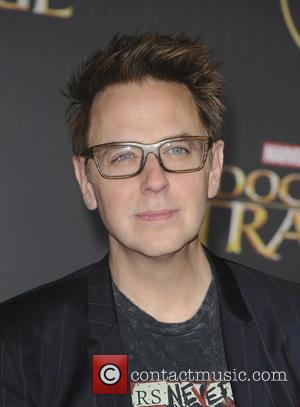 James Gunn seen at the premiere of Disney And Marvel Studios' new movie 'Doctor Strange' held at the El Capitan...