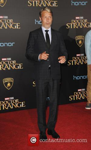 Mads Mikkelsen - Film Premiere of Doctor Strange - Arrivals - Los Angeles, California, United States - Friday 21st October...