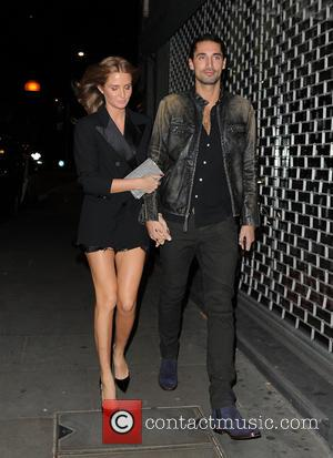 Millie Mackintosh and Hugo Taylor attend Tatler's Little Black Book Party at Restaurant Ours - London, United Kingdom - Friday...