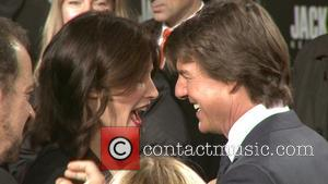 Tom Cruise and Cobie Smulders