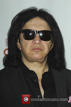 Gene Simmons seen alone and with Shannon Tweed at the World Poker Tournament Presents 'Four Kings And An Ace' held...