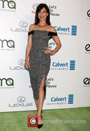 Perrey Reeves arriving at the 26th Annual Environmental Media Awards (EMA's) held at Warner Brothers Studios, Los Angeles, California, United...